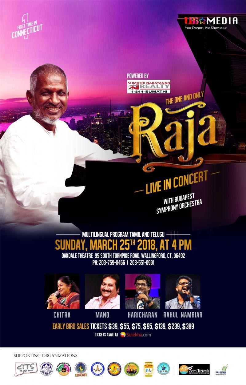 Maestro Ilayaraja Live Concert In Connecticut